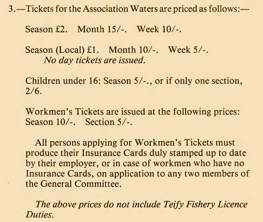 Excerpt from Teifi Trout Association 1927